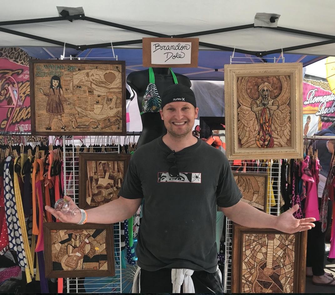 Punk n' Drublic Music Festival. Huntington Beach, CA. 2017.